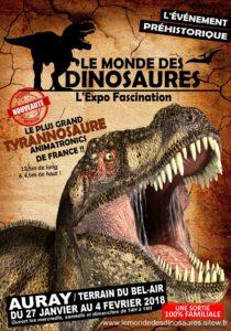 2018-01-27, Le monde des dinosaures, AURAY