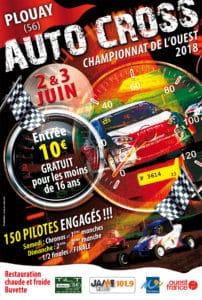 2018-06-02, affiche autocross plouay