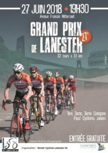 2018-06-27, affiche GP Lanester