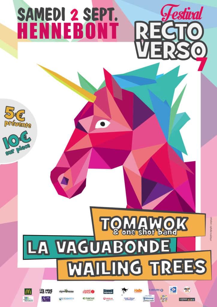 Affiche Festival Recto Verso 2017