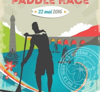 2016-06-22, affiche Lorient Hennebont Paddle Race