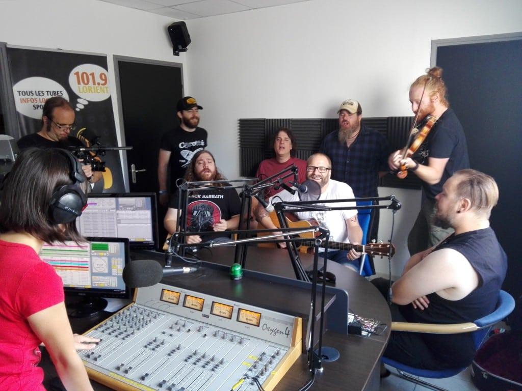 2016-08-09, Bodh'aktan aux studios