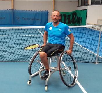 Fabien Bayon - Joueur Tennis Fauteuil