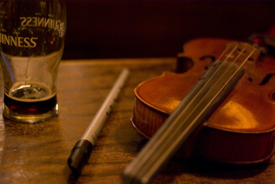 Irlande violon guinness