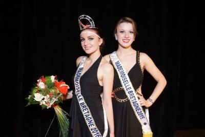 Miss concours Mademoiselle Bretagne