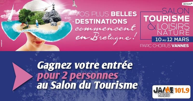 Gagnants pour le jeu salon du tourisme vannes jaimeradio for Salon e tourisme