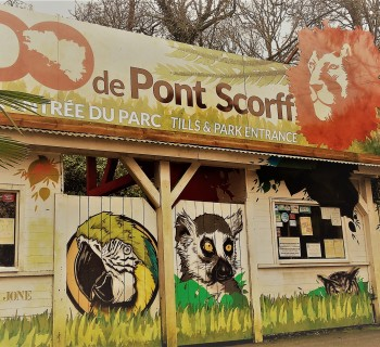 zoo pont-scorff entrée