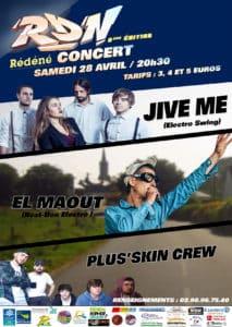 2018-04-14, affiche concert RDN