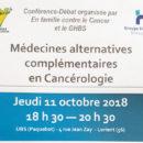 2018-10-11, conférence medecines alternatives