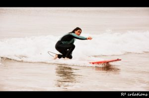 Anaëlle Le Blévec, surf, handisport, féminisme