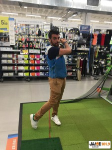 Julien Dénac, GOLF
