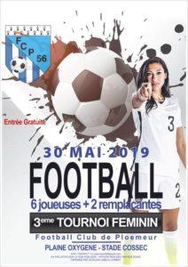 2019-05-30, affiche tournoi foot féminin ploemeur