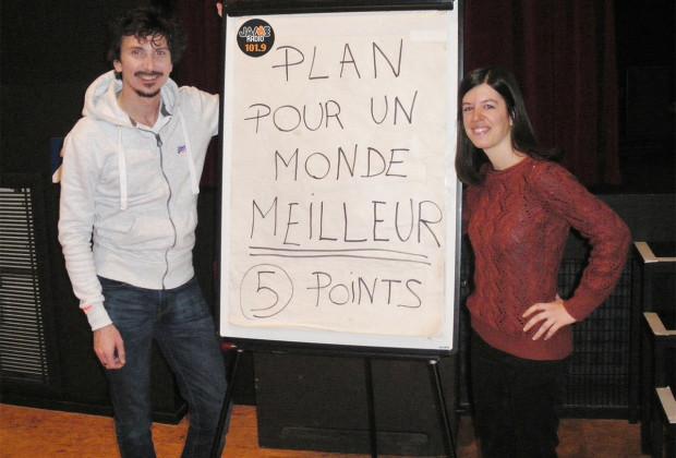 Arnaud Tsamère et Laura jaime