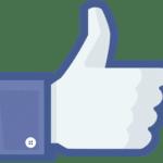 Pouce like Facebook