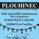 Affiche 14 juillet Plouhinec