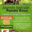 2017-07-16, journee panda roux