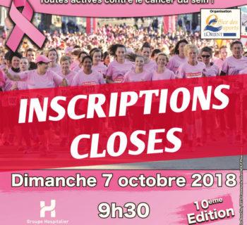 2018-10-07, affiche Lorientaise inscriptions closes