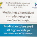 2018-10-11, conférence medecines alternatives
