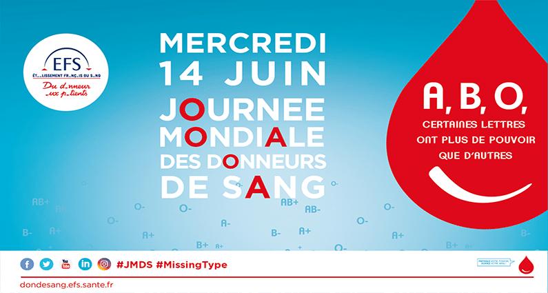 2019-06-14, journee mondiale donneurs de sang